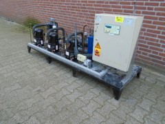 Centrale machine set met 3x TFH 4522 Z lunite 9 kw