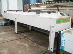 Horizontale dak condensor 160 kw.