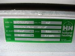 Airco klimaat koeling voor computer ruimtes met koud water voeding