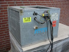 Airco klimaat koeling voor in kanaal systeem