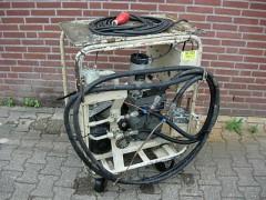 Mobile vacuumpomp voor grote toepassingen.
