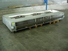 AIA 2 zijdig uitblazende koel verdampers 9 kw.