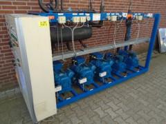 Centrale koel en vries set Bitzer 45 / 10 kw.