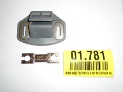 Geleidingsblok open voor Fermod  2300 serie.