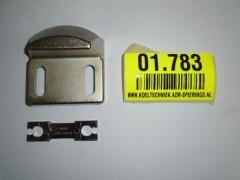 Geleidensblok open voor Fermod 3500 serie 1.