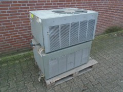 Buiten unit van air conditioner