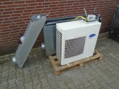 Carrier airconditioning complete set 12 kw